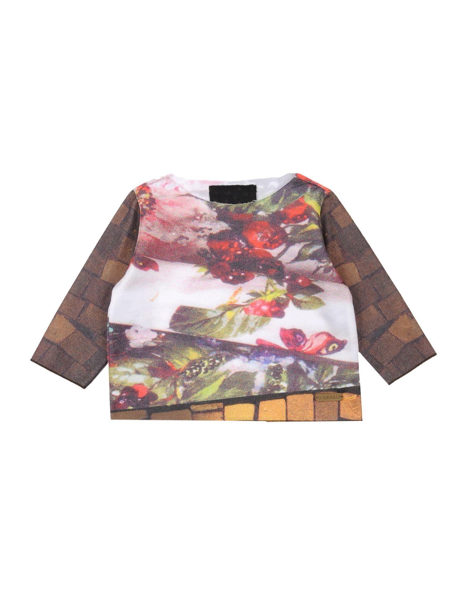 LE FARFALLE Толстовка блузки solo farfalle блузка