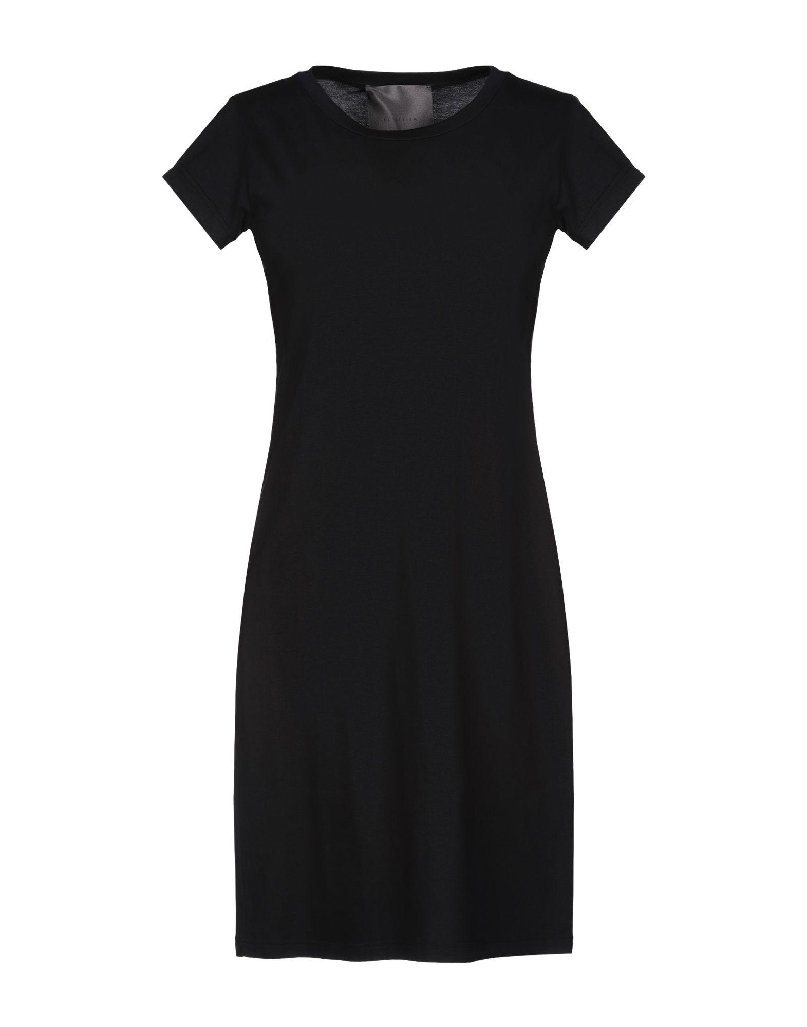 ES´GIVIEN Damen Kurzes Kleid Farbe Schwarz Größe 5