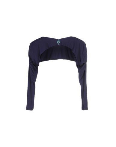 Фото 2 - Женское болеро SARLI темно-синего цвета