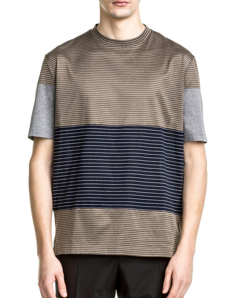 t shirt kaki bleu marine et gris lanvin polo t shirt homme boutique en ligne lanvin. Black Bedroom Furniture Sets. Home Design Ideas