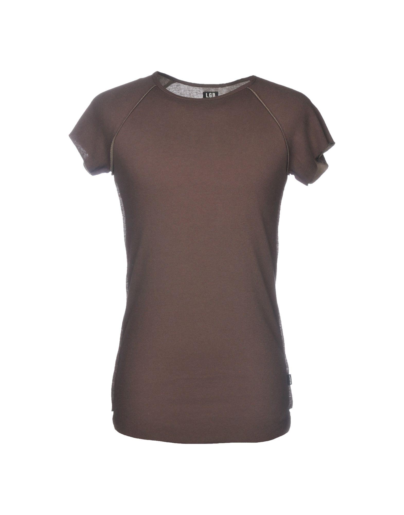 L.G.B. T-Shirt in Light Brown