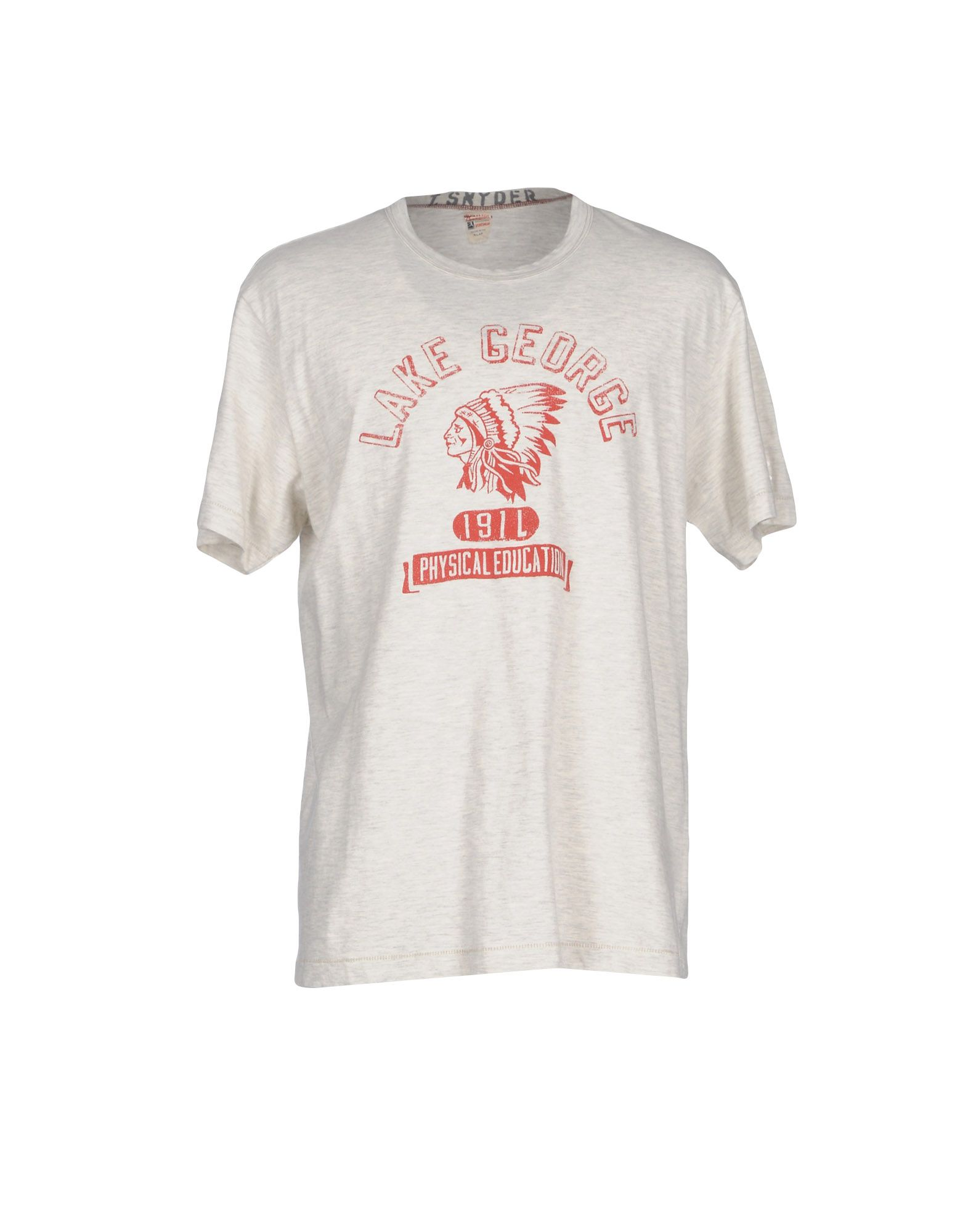 TODD SNYDER T-Shirts in Light Grey