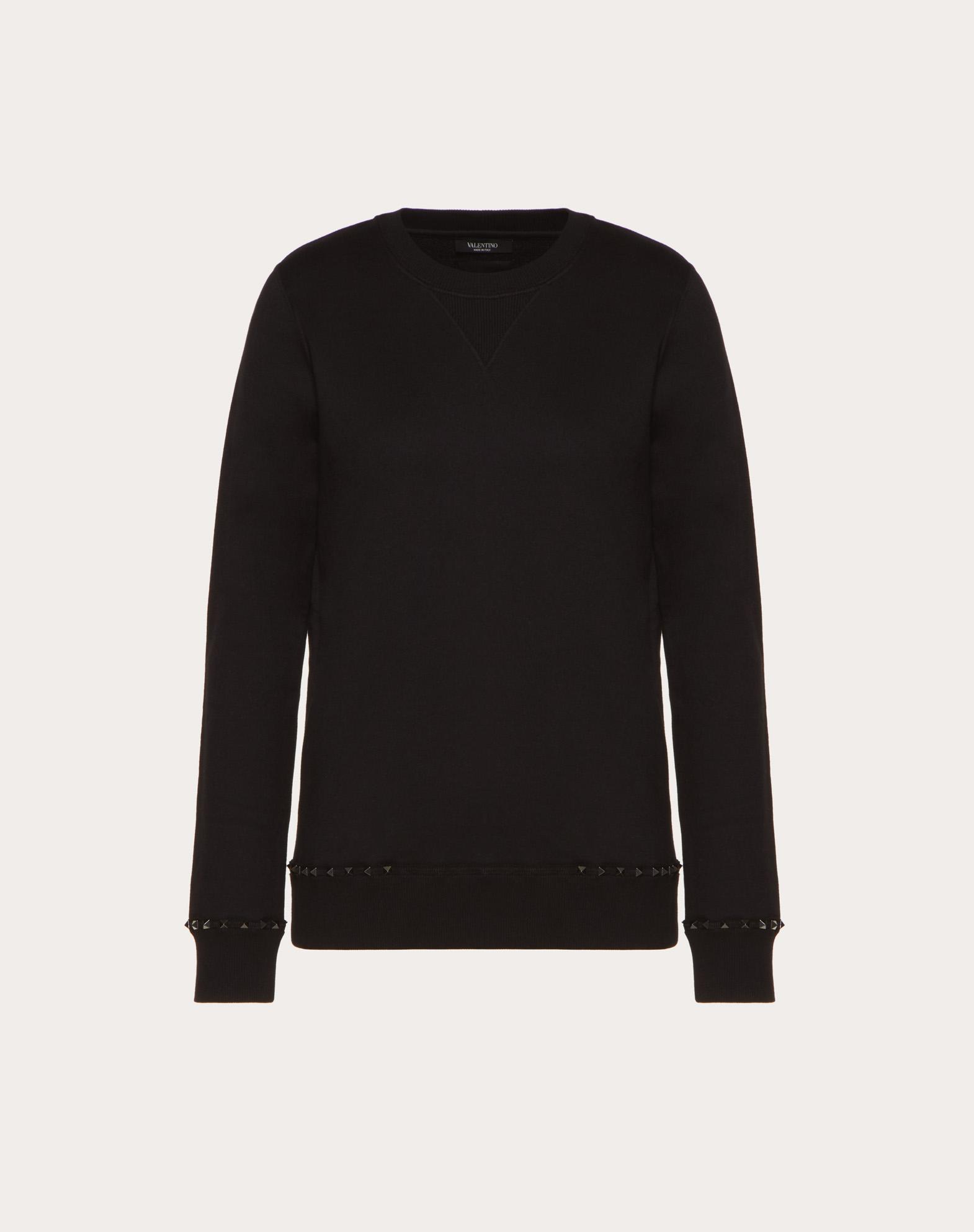 Rockstud Untitled Noir sweatshirt