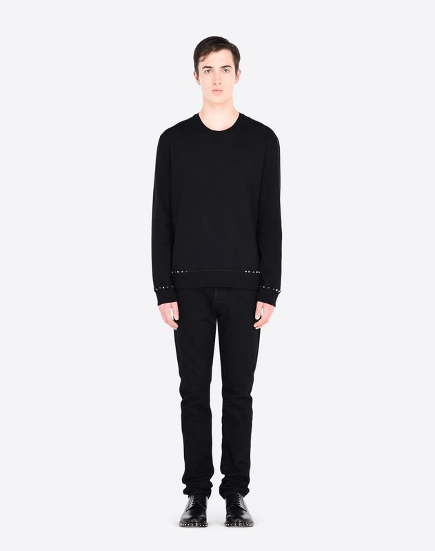 ROCKSTUD UNTITLED SWEATSHIRT