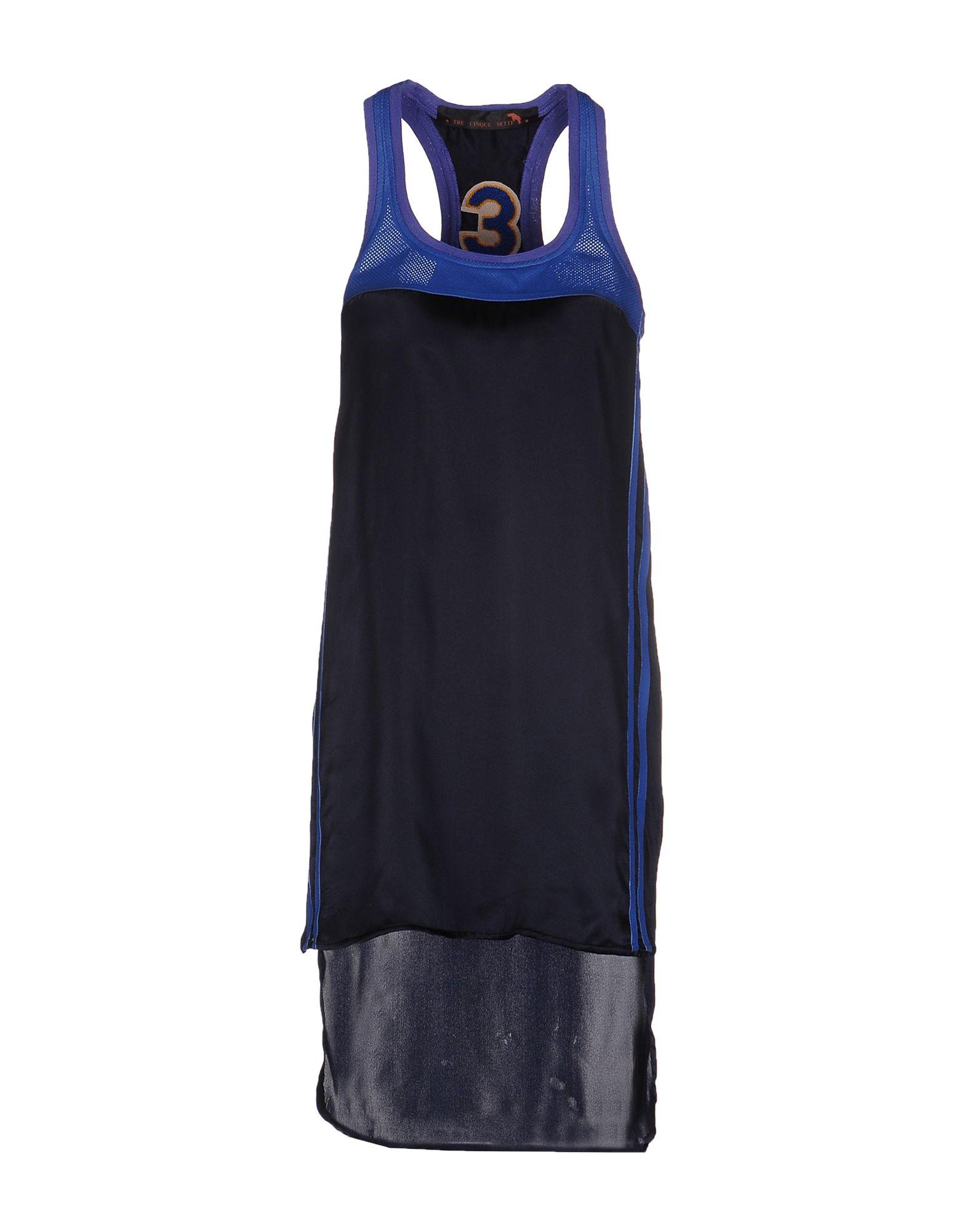 TRE CINQUE SETTE Короткое платье цена