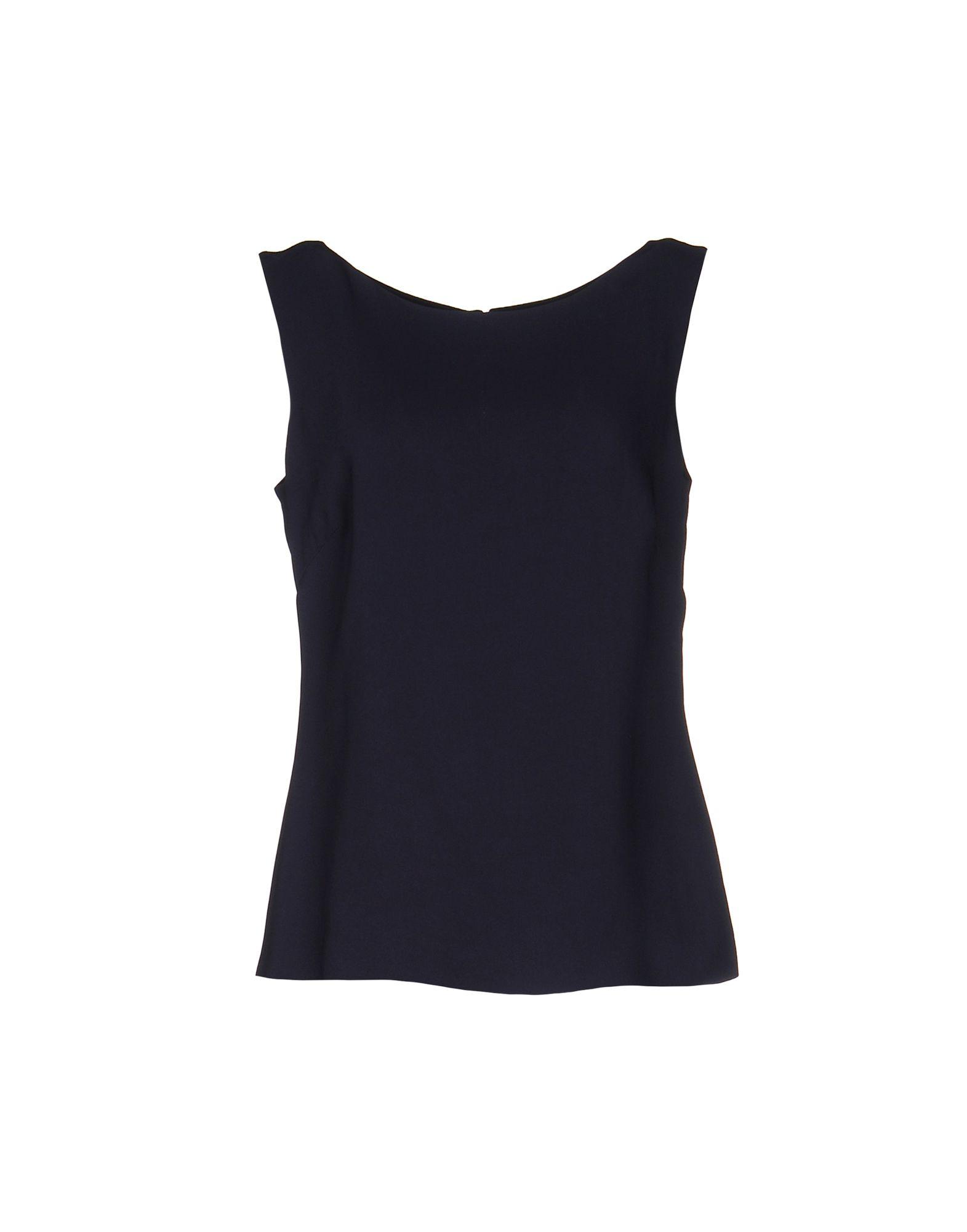 RENA LANGE Топ без рукавов rena lange футболка с короткими рукавами