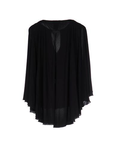 Фото 2 - Женскую футболку CAPUCCI черного цвета
