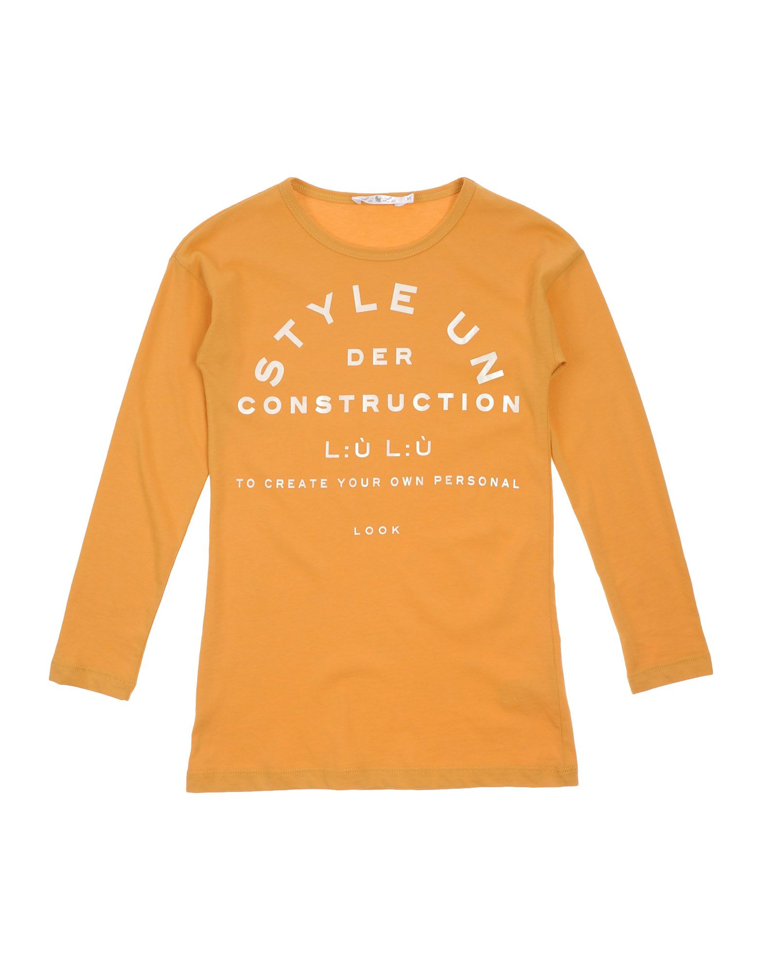 L:ú L:ú By Miss Grant Kids' T-shirts In Orange