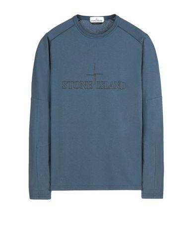 STONE ISLAND Long sleeve t-shirt 246J2 STONE ISLAND HOUSE CHECK INSTITUTIONAL GRAPHIC