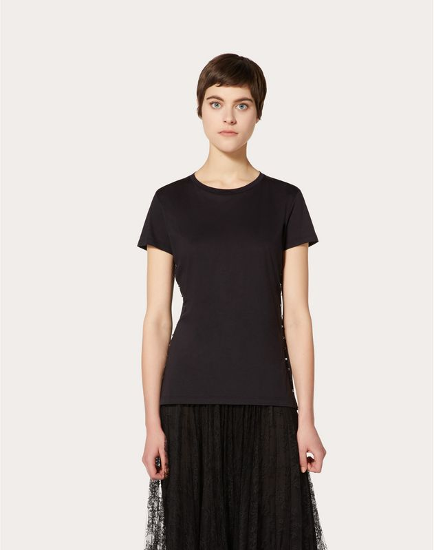 Rockstud Untitled Noir T-shirt