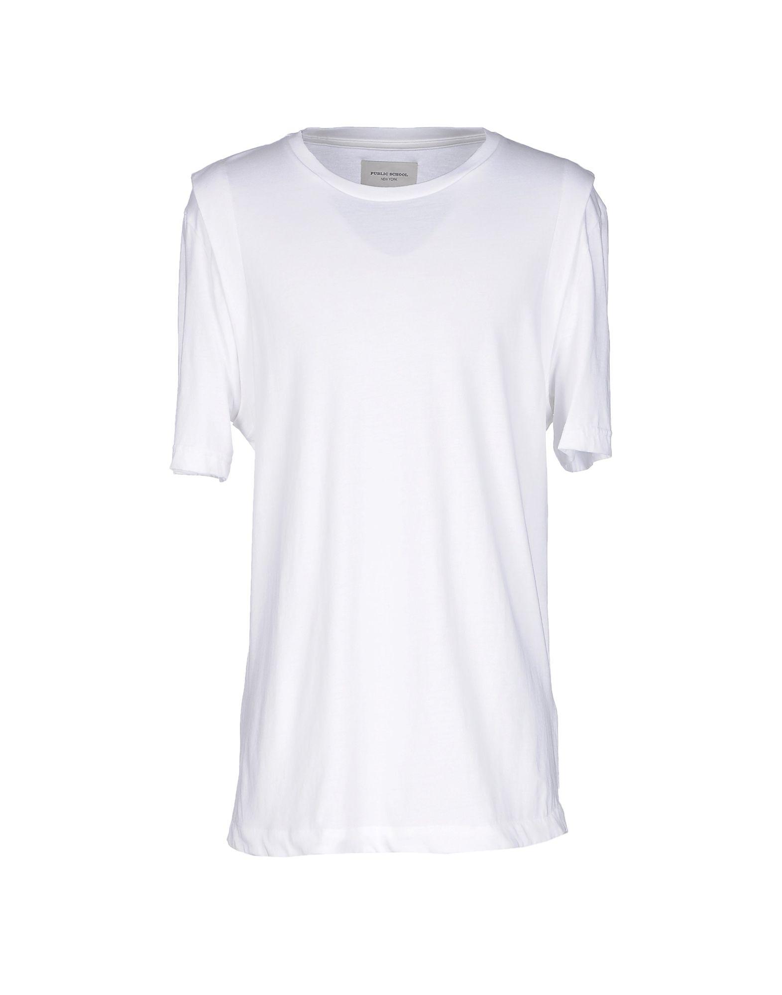 Public School T-Shirt In White