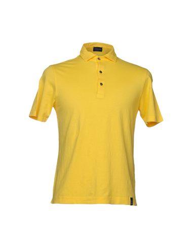 Купить Мужское поло DRUMOHR желтого цвета