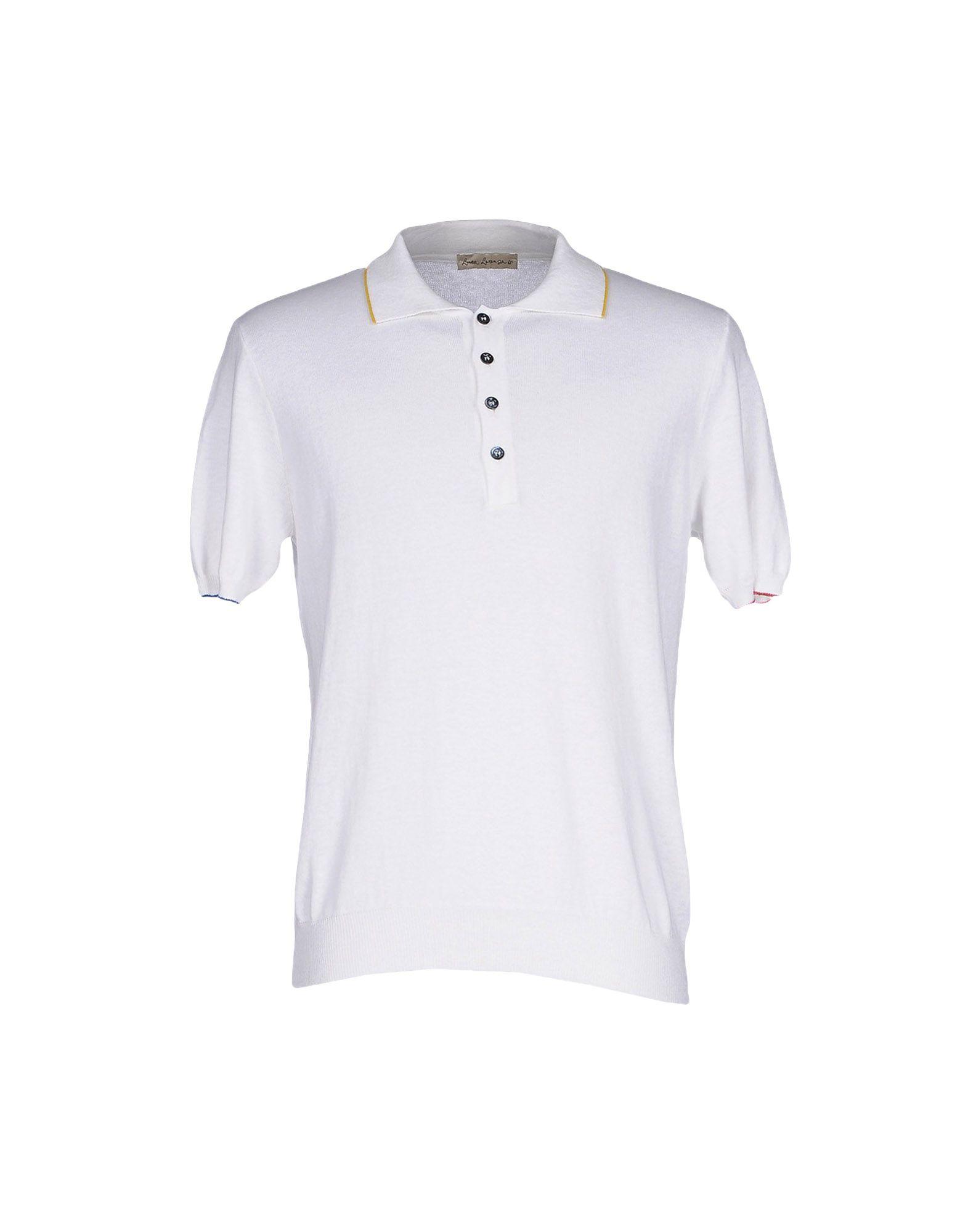 LUCA LARENZA Sweater in White