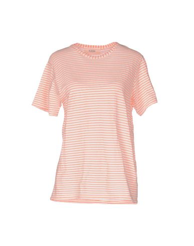 Фото - Женскую футболку  оранжевого цвета