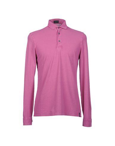 Купить Мужское поло DRUMOHR светло-фиолетового цвета