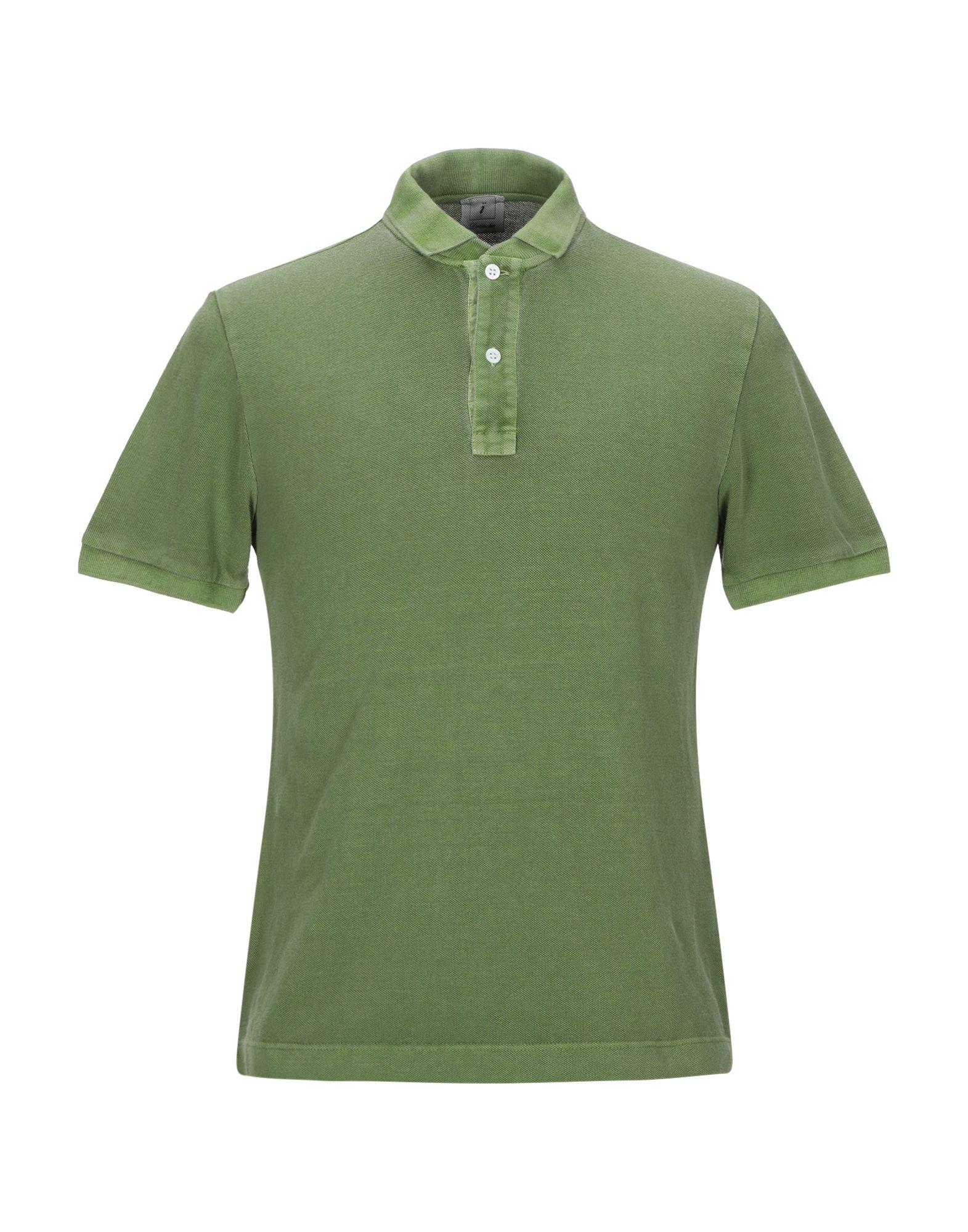 《送料無料》DRUMOHR メンズ ポロシャツ ミリタリーグリーン S コットン 100%