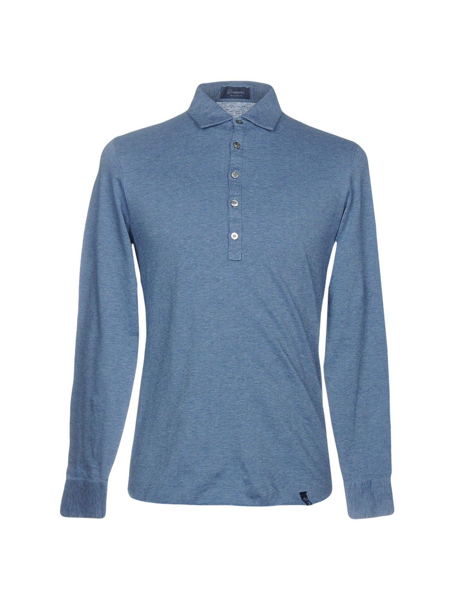 《送料無料》DRUMOHR メンズ ポロシャツ アイボリー S コットン 100%