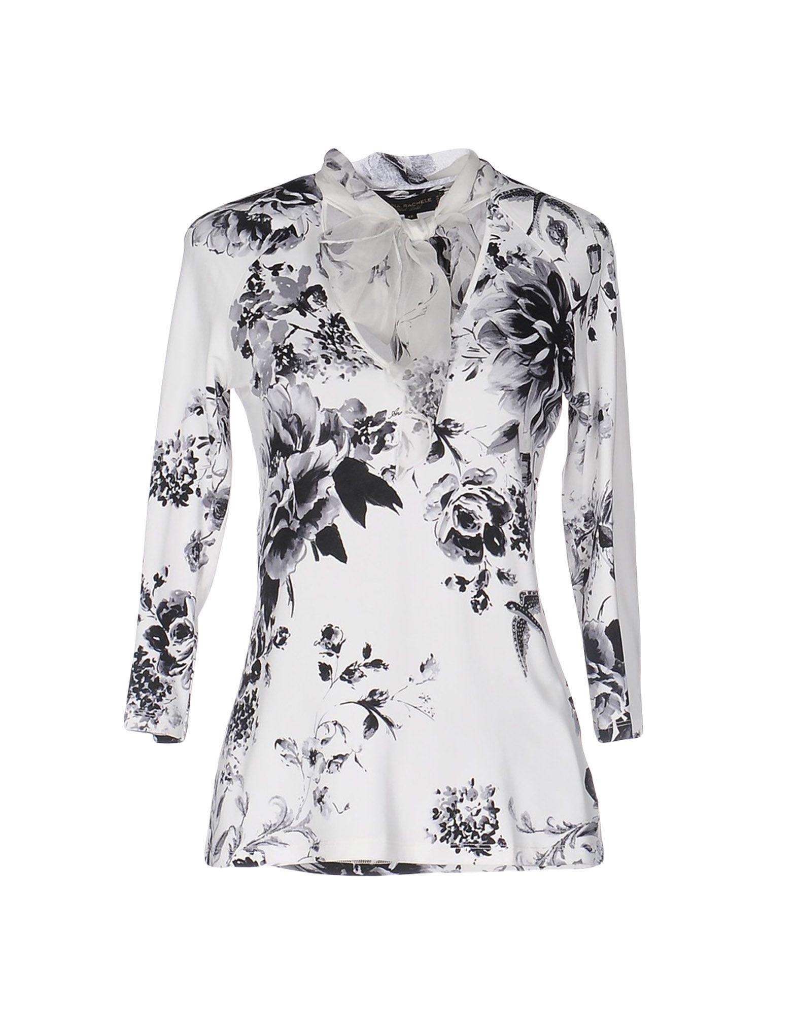 ANNA RACHELE BLACK LABEL Damen T-shirts Farbe Weiß Größe 4