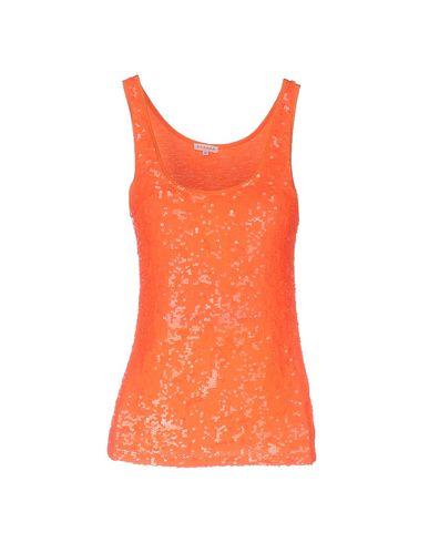 P.A.R.O.S.H. レディース タンクトップ オレンジ L ナイロン 50% / レーヨン 45% / ポリウレタン 5%