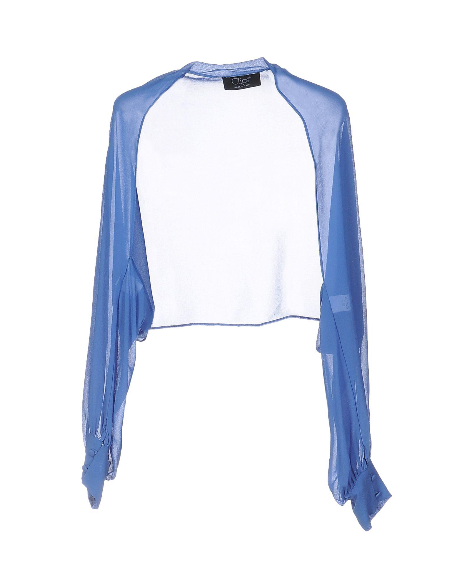 CLIPS Damen Bolero Farbe Königsblau Größe 8