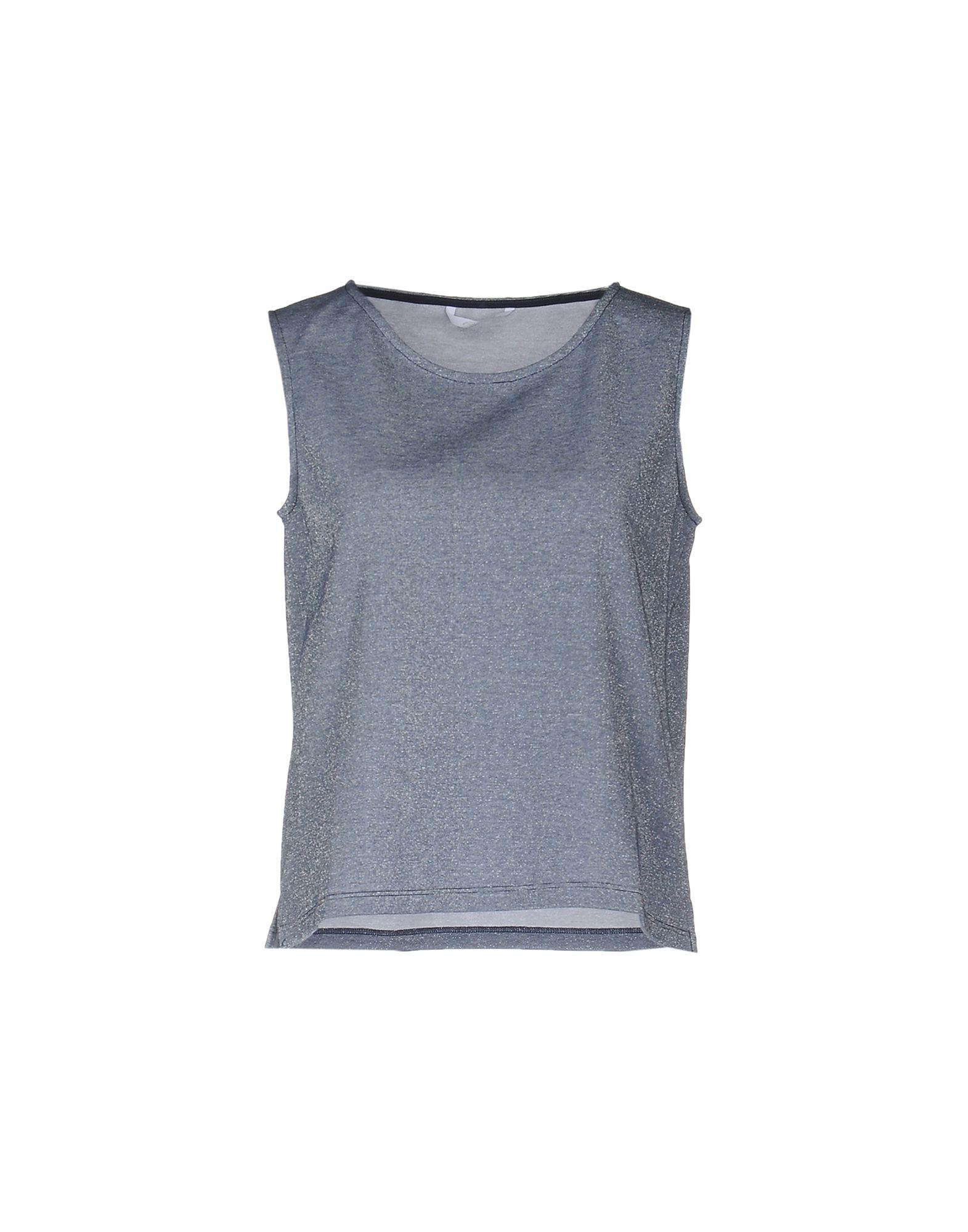 BREBIS NOIR Топ без рукавов футболка supremebeing pantera noir ss14 black 8901 xl