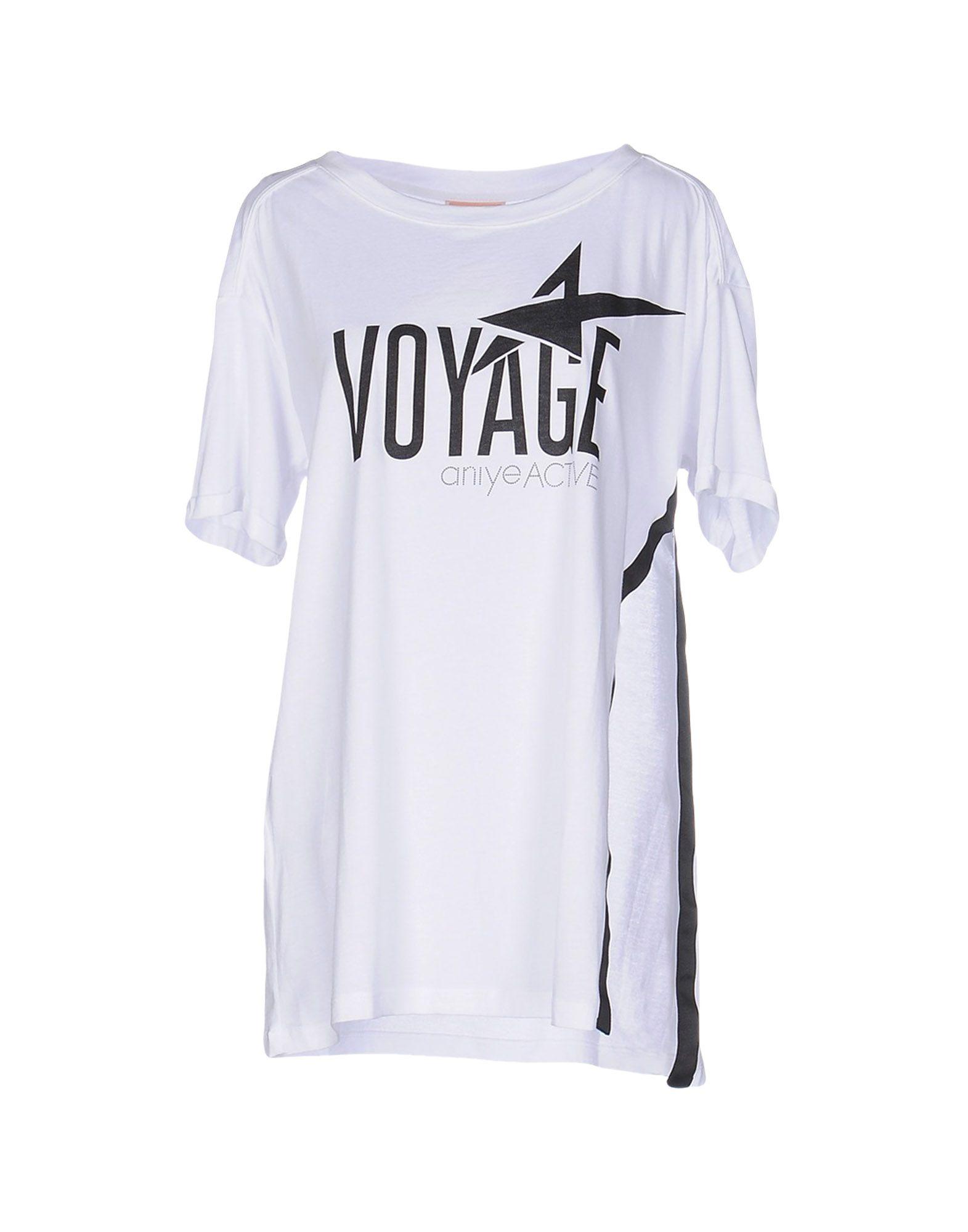 ANIYE BY Damen T-shirts Farbe Weiß Größe 3
