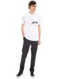 "LANVIN Polos & T-Shirts Man ""GAZE"" WHITE SLIM-FIT T-SHIRT BY CÉDRIC RIVRAIN f"