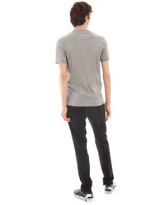"LANVIN ""GAZE"" GREY SLIM-FIT T-SHIRT BY CÉDRIC RIVRAIN Polos & T-Shirts U d"