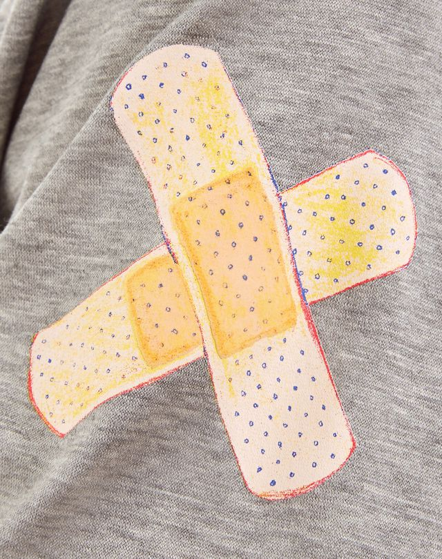 "LANVIN ""GAZE"" GREY SLIM-FIT T-SHIRT BY CÉDRIC RIVRAIN Polos & T-Shirts U a"