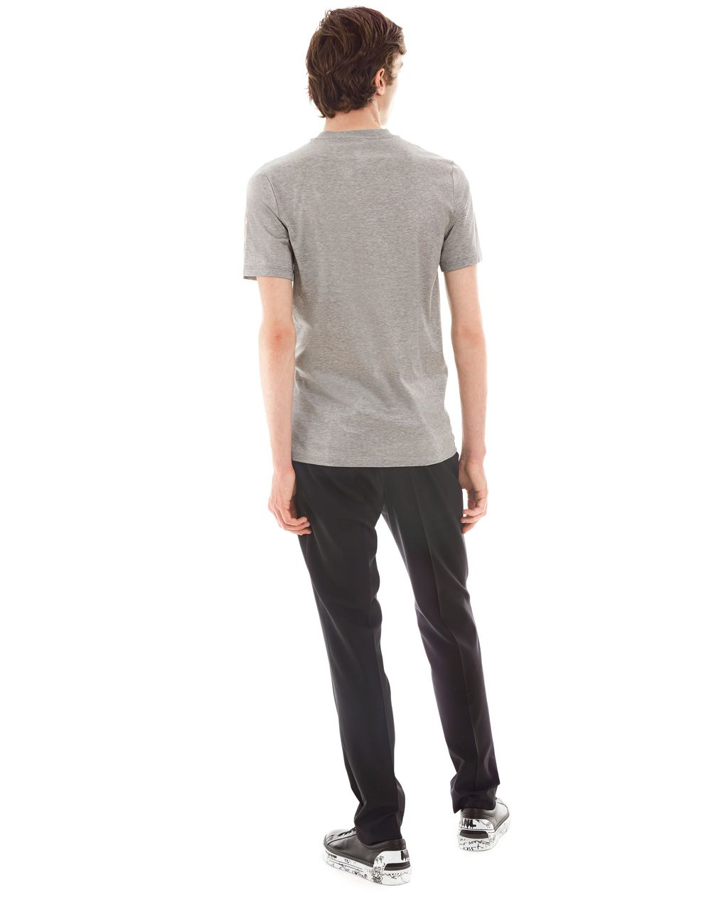 """GAZE"" GREY SLIM-FIT T-SHIRT BY CÉDRIC RIVRAIN - Lanvin"