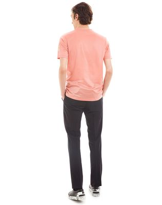 "LANVIN ""GAZE"" PINK SLIM-FIT T-SHIRT BY CÉDRIC RIVRAIN Polos & T-Shirts U d"