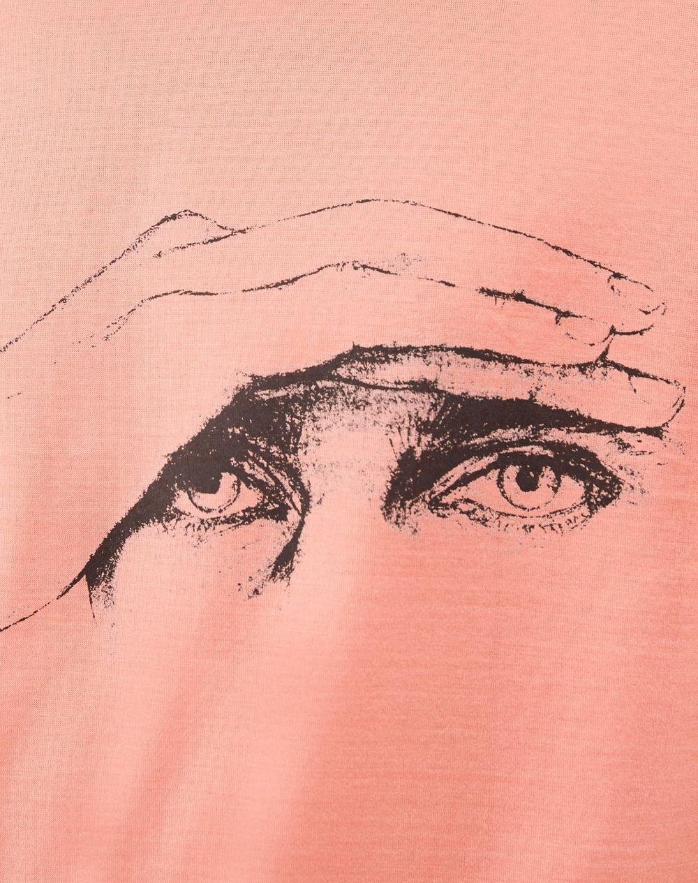 """""""GAZE"""" PINK SLIM-FIT T-SHIRT BY CÉDRIC RIVRAIN - Lanvin"""