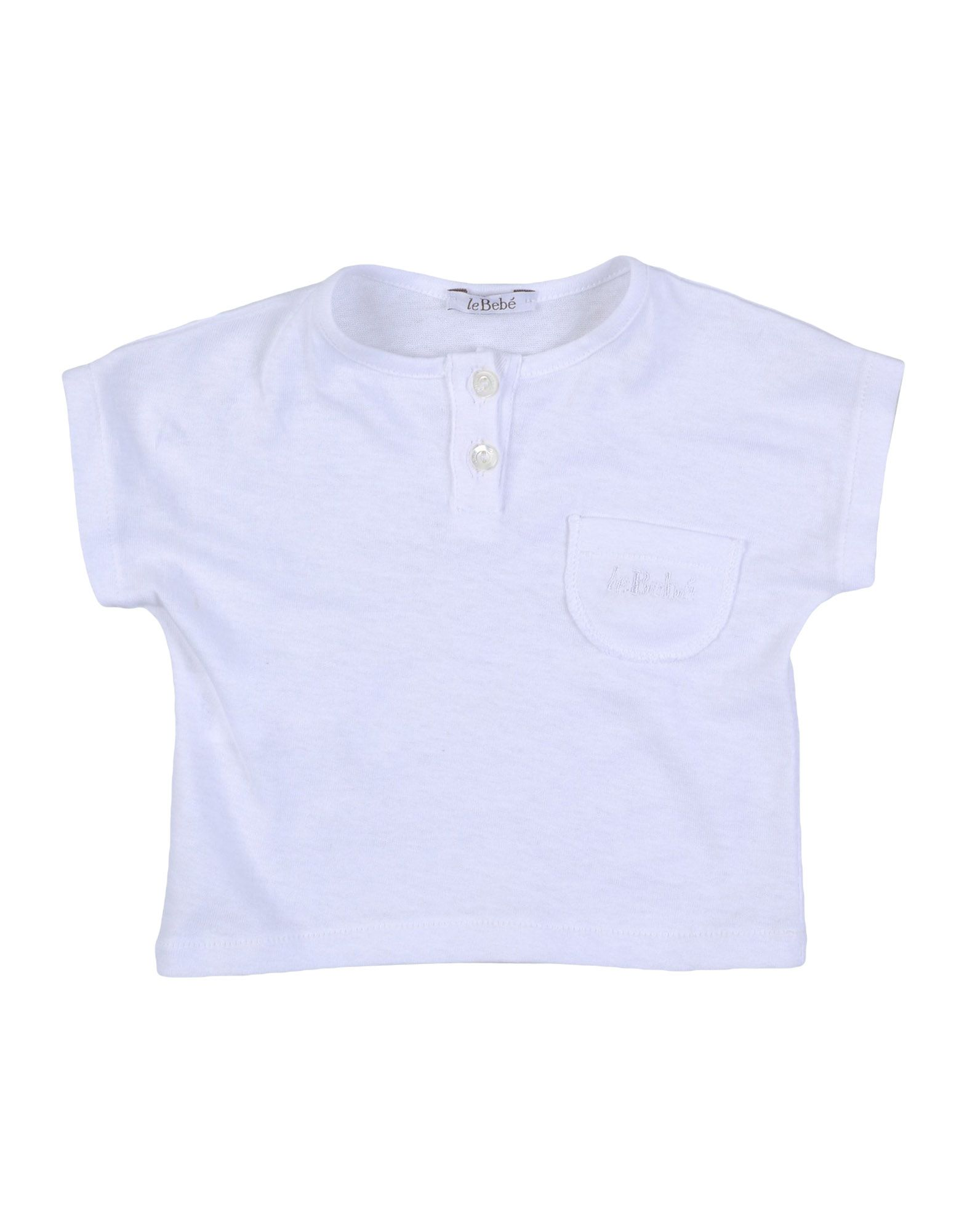 Le Bebé Kids' T-shirts In White