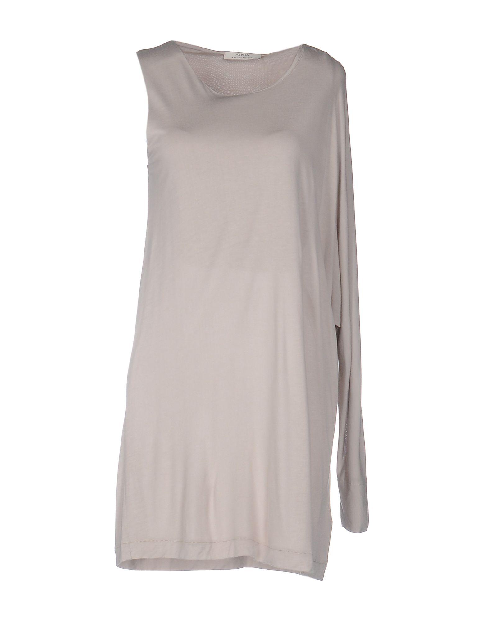 ALPHA MASSIMO REBECCHI Футболка alpha massimo rebecchi платье длиной 3 4