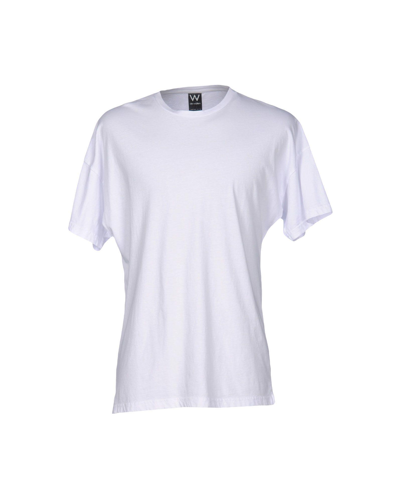 DE WALLEN T-Shirt in White
