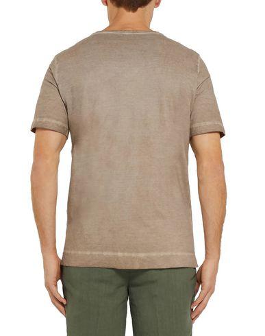Фото 2 - Женскую футболку MASSIMO ALBA цвета хаки