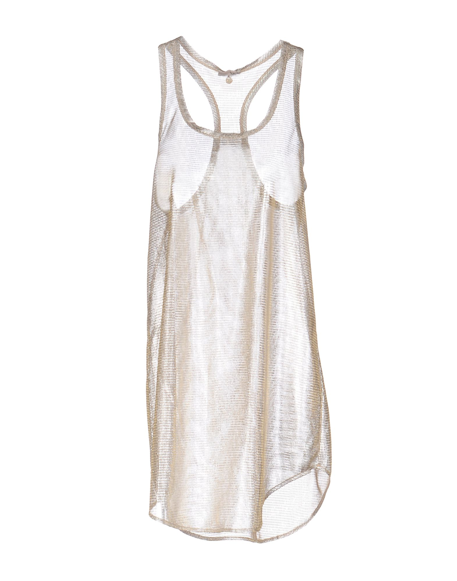 SCEE by TWIN-SET Майка checker knot bikini set