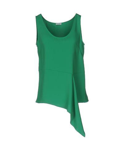 Купить Топ без рукавов от P.A.R.O.S.H. зеленого цвета