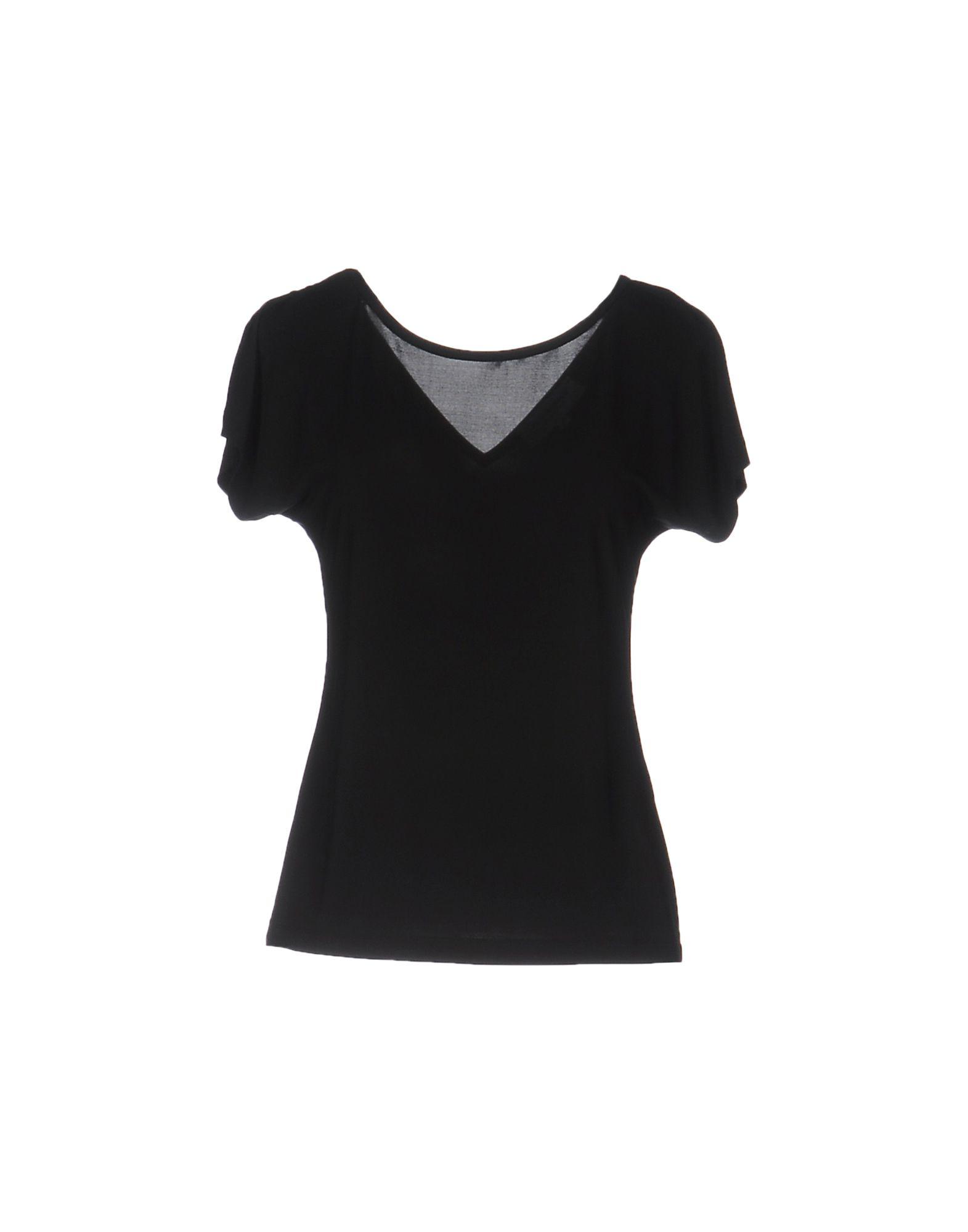 ANNA RACHELE Damen T-shirts Farbe Schwarz Größe 5