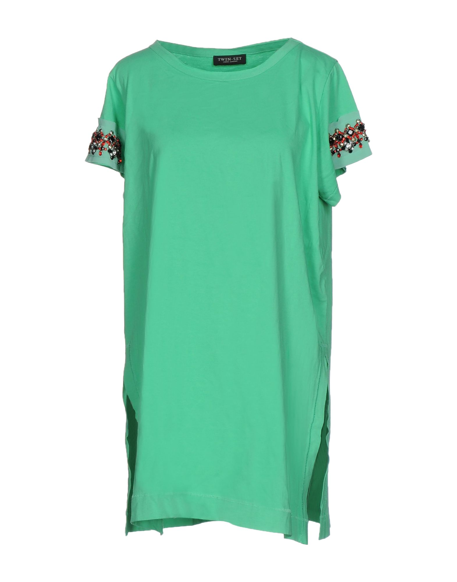 TWIN-SET Simona Barbieri Футболка twin set футболка с кружевом twin set j2a4fb 1014 кремовый m