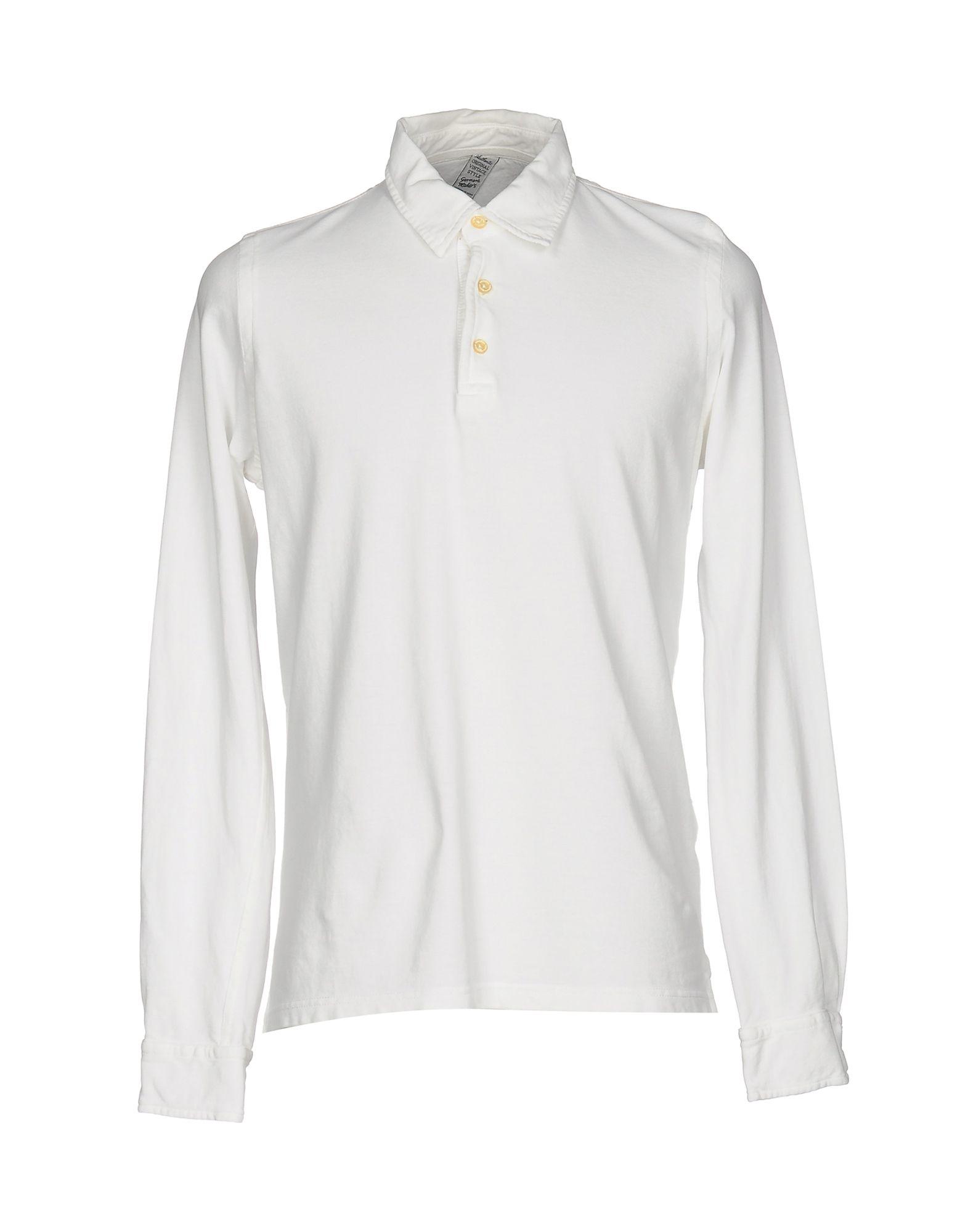 《送料無料》AUTHENTIC ORIGINAL VINTAGE STYLE メンズ ポロシャツ ホワイト 3XL コットン 100%
