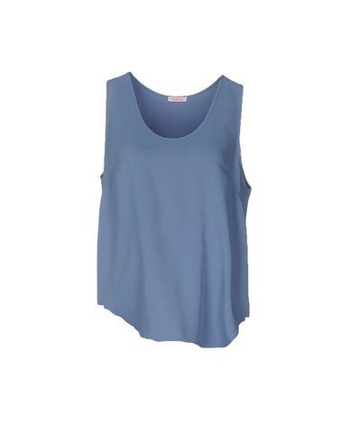 Купить Топ без рукавов от P.A.R.O.S.H. пастельно-синего цвета