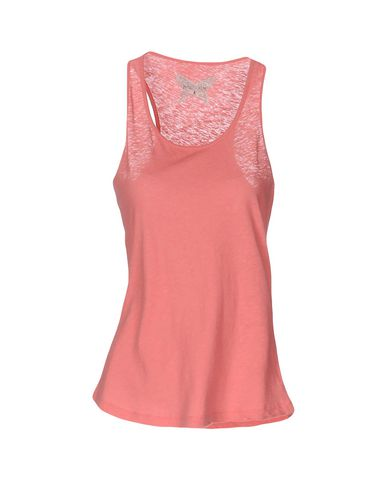Купить Женскую майку  лососево-розового цвета
