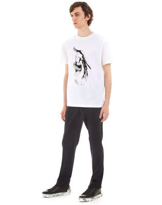 "LANVIN ""CRANE"" SLIM-FIT T-SHIRT Polos & T-Shirts U e"