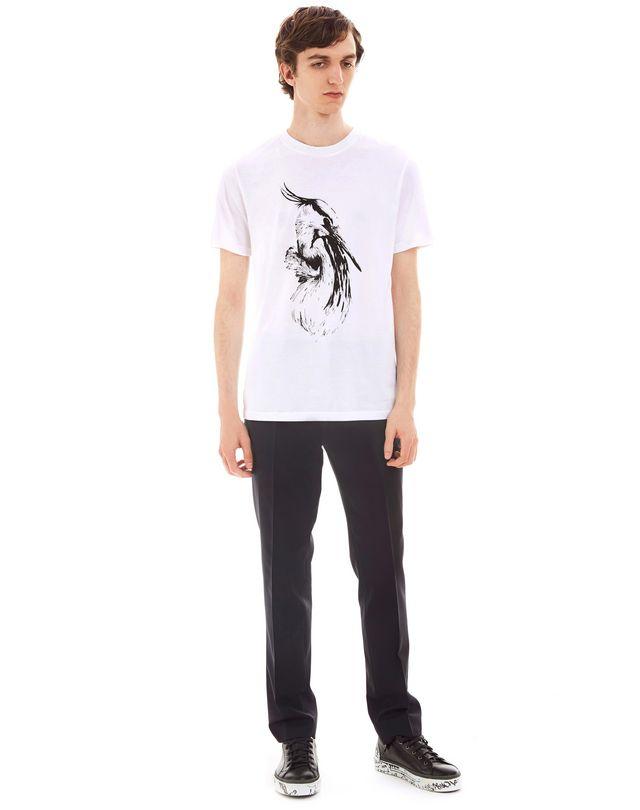 "LANVIN ""CRANE"" SLIM-FIT T-SHIRT Polos & T-Shirts U r"