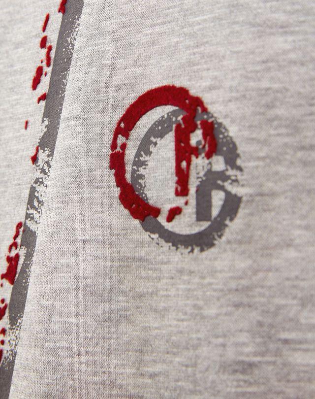 """LANVIN """"L"""" GREY SLIM-FIT T-SHIRT Polos & T-Shirts U b"""