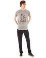 """LANVIN Polos & T-Shirts Man """"L"""" GREY SLIM-FIT T-SHIRT f"""