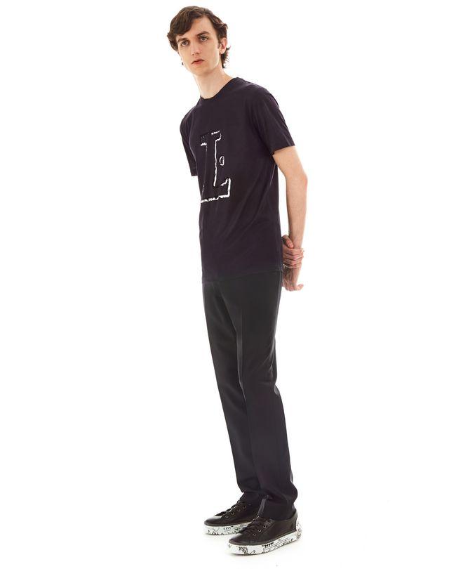 "LANVIN ""L"" INK SLIM-FIT T-SHIRT Polos & T-Shirts U e"
