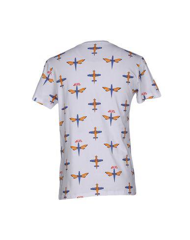 Фото 2 - Женскую футболку CESARE PACIOTTI 4US белого цвета