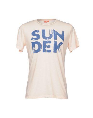 Фото - Женскую футболку SUNDEK светло-розового цвета